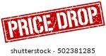 price drop. grunge vintage... | Shutterstock .eps vector #502381285