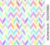 chevron pastel colorful pattern ...   Shutterstock .eps vector #502435882