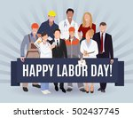 Happy Labor Day American Banner ...
