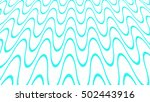 seamless pattern of blue waves. ... | Shutterstock . vector #502443916