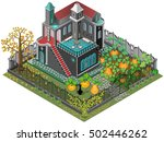 Haunted House With Garden....