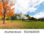 The Vermont State House With...