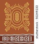 folk  tribal designs  motif ... | Shutterstock .eps vector #50249233