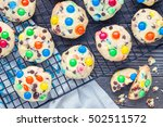 Shortbread Cookies With Multi...
