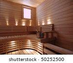 finnish sauna   Shutterstock . vector #50252500