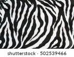 zebra texture with beige white... | Shutterstock . vector #502539466