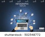 business brainstorming modern...   Shutterstock .eps vector #502548772