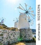 Windmills At Lasithi Plateau....