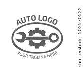 classic retro auto logo | Shutterstock .eps vector #502570522