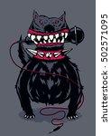 music poster template for rock... | Shutterstock .eps vector #502571095