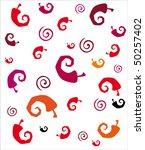 seamless chili pepper...   Shutterstock .eps vector #50257402