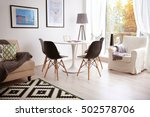 interior of beautiful modern... | Shutterstock . vector #502578706