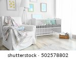 interior of modern baby room | Shutterstock . vector #502578802