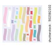 line color. | Shutterstock .eps vector #502582102