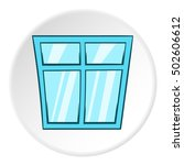 window icon in cartoon style...   Shutterstock . vector #502606612