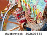 close up view of a colorful... | Shutterstock . vector #502609558