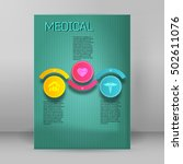 medical background abstract  ... | Shutterstock .eps vector #502611076