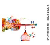 music template vector...   Shutterstock .eps vector #502615276