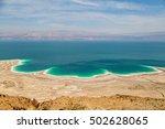 desert landscape of israel ... | Shutterstock . vector #502628065