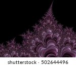 abstract fractal background | Shutterstock . vector #502644496