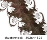 abstract fractal background | Shutterstock . vector #502644526