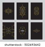 vector retro frame  vintage...   Shutterstock .eps vector #502693642
