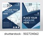 cover book portfolio... | Shutterstock .eps vector #502724062