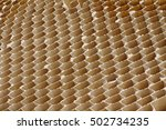 honeycomb cardboard cells | Shutterstock . vector #502734235
