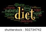 diet word cloud  color fonts ...   Shutterstock .eps vector #502734742