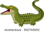 crocodile open mouth | Shutterstock .eps vector #502743052