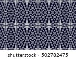 geometric ethnic pattern design | Shutterstock .eps vector #502782475