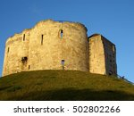 York England Clifford's Tower....