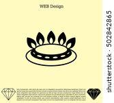 gas burner icon. vector design   Shutterstock .eps vector #502842865