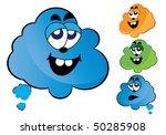 cloud cartoon | Shutterstock .eps vector #50285908