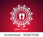 creative vector abstract for... | Shutterstock .eps vector #502875538