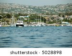 Newport Beach California Harbor - stock photo