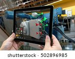 industrial 4.0   augmented... | Shutterstock . vector #502896985