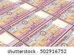 omani rials bills stacked... | Shutterstock . vector #502916752
