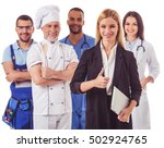 beautiful people of different... | Shutterstock . vector #502924765