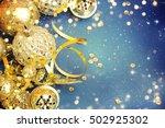 family holiday  christmas tree... | Shutterstock . vector #502925302