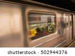 Speeding Up Train In New York...