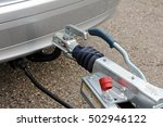 Trailer Hitch With Trailer On ...