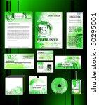 business template set | Shutterstock .eps vector #50295001
