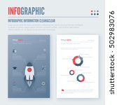 infographic elements set. easy... | Shutterstock .eps vector #502983076