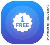 one free purple   blue circular ...