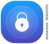 lock purple   blue circular ui...