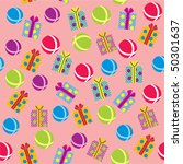 celebratory seamless background ...   Shutterstock .eps vector #50301637