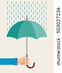 men's hands is holding an... | Shutterstock .eps vector #503027236