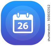 26th calendar purple   blue...