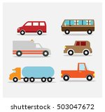 city transport elements design... | Shutterstock .eps vector #503047672